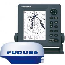 "FURUNO 1715  7"" LCD 24NM RADAR"