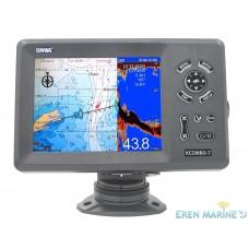 Onwa KCOMBO-7 GPS Chart Plotter With Fish Finder